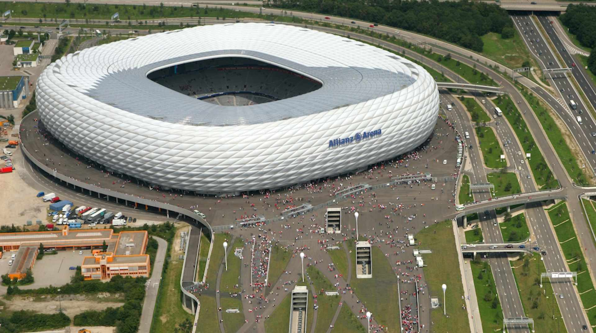 Allianz Arena, Munich, Allemagne